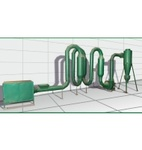 Сушильная установка для сушки древесных отходов